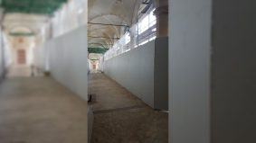 CERTOSA DI PISA - Particolari tamponatura lato chiostro A